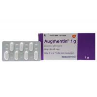 Thuốc kháng sinh Augmentin 1g (2 vỉ x 7 viên/hộp)
