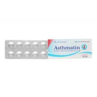 Thuốc trị hen suyễn Asthmatin 4mg (3 vỉ x 10 viên/hộp)