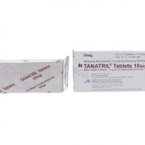 Thuốc điều trị cao huyết áp Tanatril Tablets 10mg (10 vỉ x 10 viên/hộp)