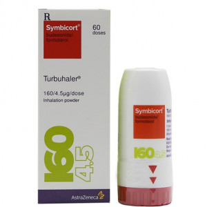 Symbicort Turbuhaler 160/4.5mcg (60 liều)