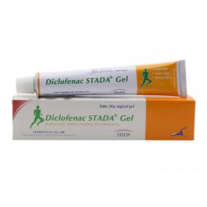 Gel bôi giảm đau, kháng viêm Diclofenac Stada (20g)