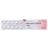 Thuốc điều trị cao huyết áp Nebivolol Stada 5mg (3 vỉ x 10 viên/hộp)