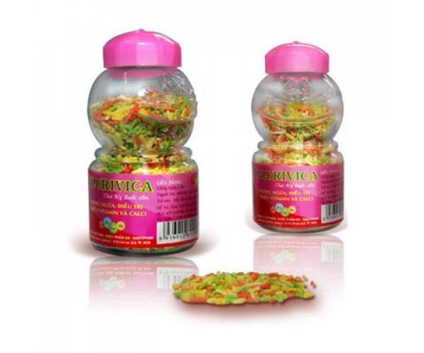 Cốm bổ sung vitamin và canxi Plurivica (40g)