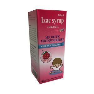 Siro ho long đờm Izac syrup (Chai 60ml)