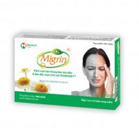 TPCN điều trị đau nửa đầu và thiếu máu não Migrin (2 vỉ x 10 viên/hộp)