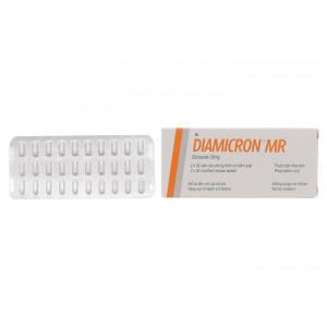 Diamicron MR 30mg (2 vỉ x 30 viên/hộp)