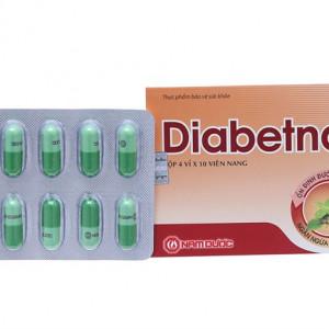 Thực phẩm bảo vệ sức khỏe hỗ trợ điều trị bệnh tiểu đường Diabetna (40 viên/hộp)