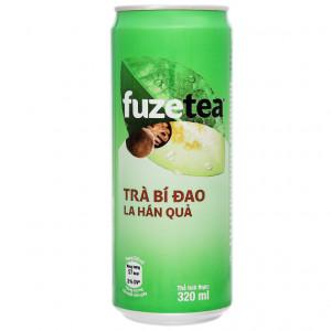 Trà bí đao la hán quả Fuze Tea 330ml
