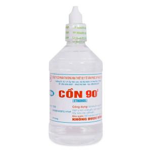 Cồn y tế 90 độ trắng Vĩnh Phúc (500ml/chai)