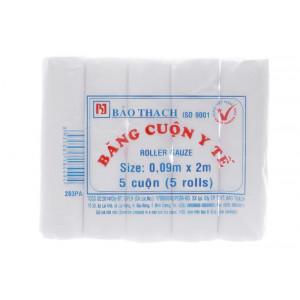 Băng cuộn y tế Bảo Thạch (5 cuôn/gói)