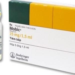 Mobic 15mg/1.5ml (5 ống/hộp)