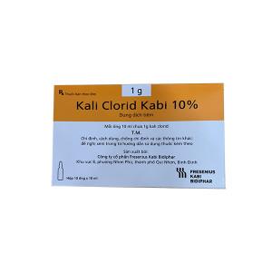Dung dịch tiêm Kali Clorid Kabi 10% (10 ống/hộp)