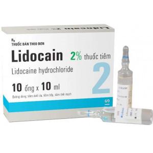 Lidocain 2% 10ml (10 ống/hộp)