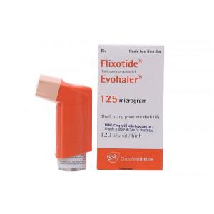 Thuốc xịt điều trị hen phế quản Flixotide Evohaler 125mcg