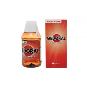 Thuốc súc miệng sát khuẩn vùng họng Medoral (250ml)