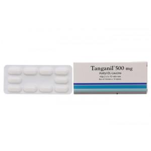 Thuốc điều trị cơn chóng mặt Tanganil 500mg (3 vỉ x 10 viên/hộp)