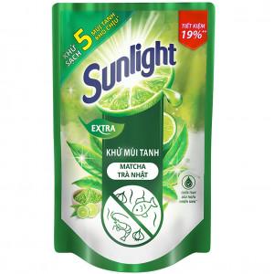 Nước rửa chén Sunlight Extra trà xanh matcha Nhật Bản (725ml)