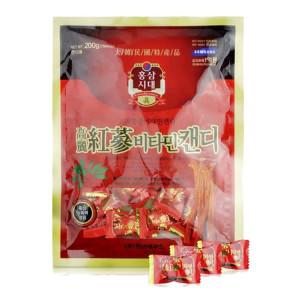 Kẹo hồng sâm Vitamin Hàn Quốc (200g)