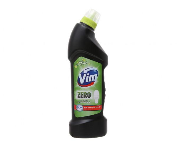 Nước tẩy bồn cầu VIM Zero hương chanh (750ml)
