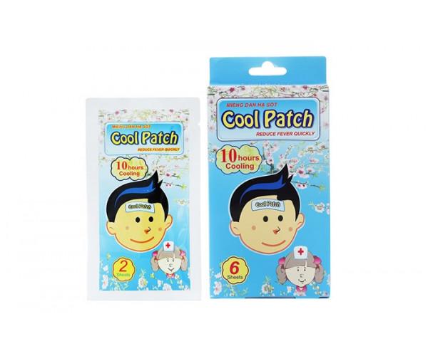 Miếng dán hạ sốt Cool Patch (3 gói/hộp)
