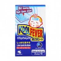 Miếng dán hạ sốt trẻ em Kool Fever (2 miêng x 8 gói/hộp)