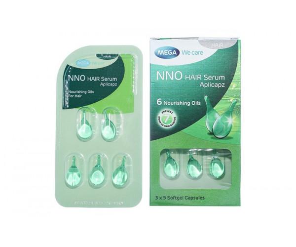 Serum nuôi dưỡng và bảo vệ tóc NNO Hair Aplicapz (3 vỉ x 5 viên/hộp)