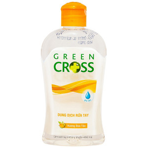 Dung dịch rửa tay khô Green Cross hương Dưa táo (250ml)