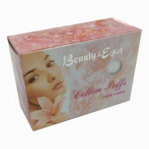 Bông tẩy trang Hàn Quốc Beauty & Eva (80 miếng/hộp)
