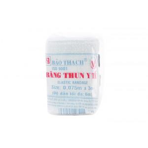 Băng thun y tế 2 móc Bảo Thạch (0.075m x 3m)