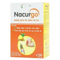 Dung dịch xịt tạo màng sinh học bảo vệ da Nacurgo (12ml)