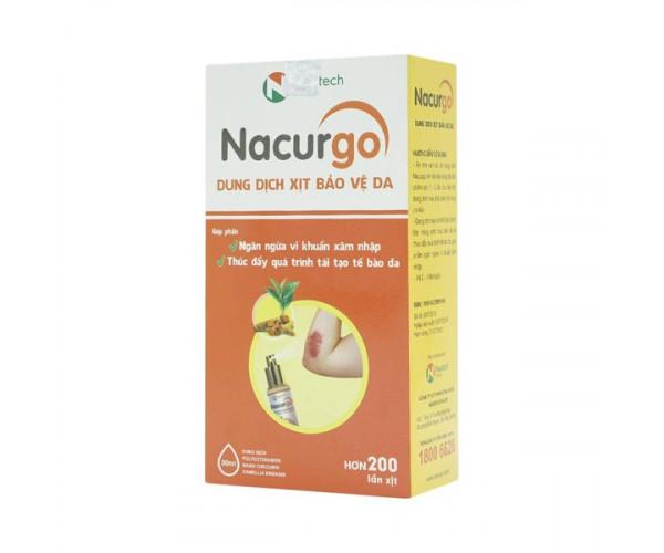 Dung dịch xịt tạo màng sinh học bảo vệ da Nacurgo (30ml)