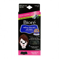 Miếng dán mũi lột mụn than hoạt tính Biore (4 miếng/hộp)