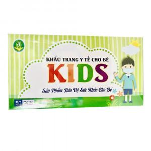 Khẩu trang y tế trẻ em Kids (50 chiếc/hộp)
