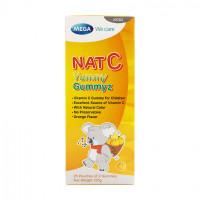 Kẹo dẻo bổ sung vitamin C tăng cường sức đề kháng Nat C Yummy Gummyz 125g (25 gói/hộp)