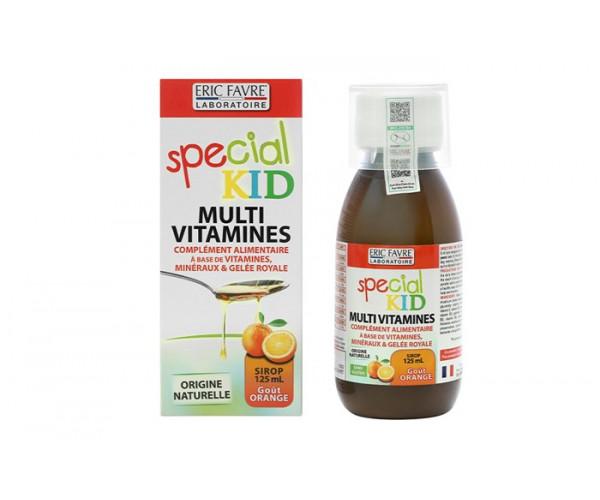 Siro bổ sung vitamin cho trẻ Special Kid Multivitamines hương cam (125ml)