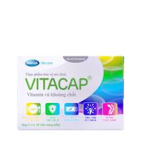 Thực phẩm bảo vệ sức khỏe giúp bổ sung vitamin và khoáng chất Vitacap (5 vỉ x 10 viên/hộp)