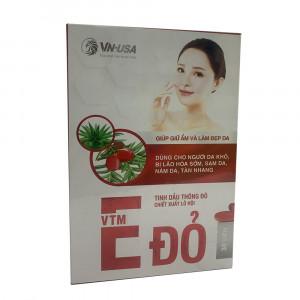 Viên uống đẹp da Vitamin E đỏ (30 viên/hộp)