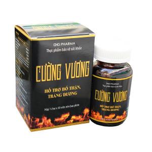 Viên uống bổ thận, tráng dương Cường Vương (30 viên/hộp)
