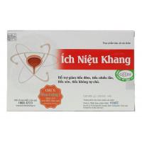 Viên uống giảm tiểu đêm, tiểu nhiều Ích Niệu Khang (20 viên/hộp)