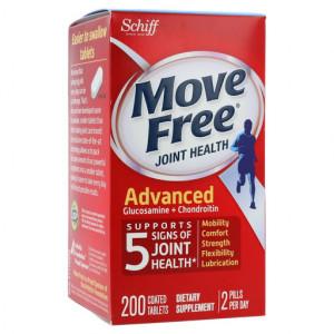 Viên uống bổ khớp Move Free Joint Health Advanced (200 viên/hộp)