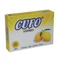 Viên ngậm hỗ trợ trị nhiễm khuẩn hầu, họng Cufo Lozenges hương vị Chanh (2 vỉ x 12 viên/hộp)