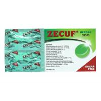 Kẹo ngậm ho, đau họng Zecuf không đường (5 vỉ x 4 viên/hộp)