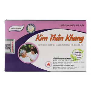 Viên uống  Kim Thần Khang (3 vỉ x 10 viên/hộp)