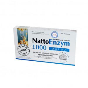 Viên uống cải thiện tình trạng thiếu máu não NattoEnzym 1000 (3 vỉ x 10 viên/hộp)