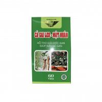 Viên uống hỗ trợ giải độc gan Cà Gai Leo - Mật Nhân Kingphar (60 viên/hộp)