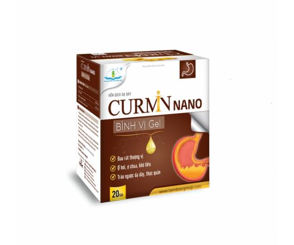Hỗn dịch dạ dày Curmin Nano Bình Vị Gel (20 gói/hộp)