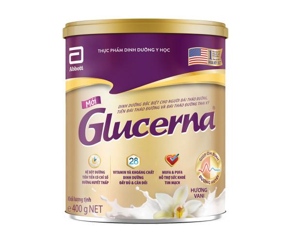Sữa bột dinh dưỡng cho người đái tháo đường Abbott Glucerna (400g)
