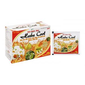 Bột sủi Herba Cool nước mát (10 gói/hộp)