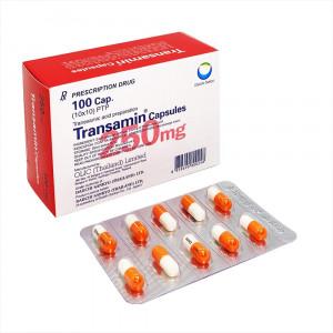 Thuốc cầm máu Transamin 250mg (10 vỉ x 10 viên/hộp)