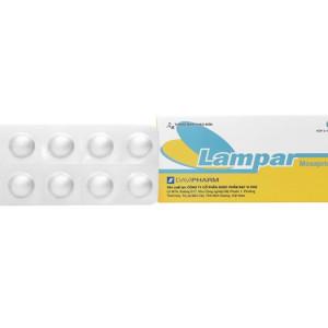 Thuốc trị trào ngược dạ dày, thực quản Lampar 5mg (6 vỉ x 10 viên/hộp)